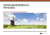 Doing business aux Pays-Bas