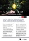 EIU Technology & Sustainability
